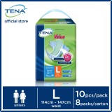 Who Sells Tena Value L10S X 8 Case The Cheapest