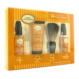 Review The Art Of Shaving Starter Kit Lemon Pre Shave Oil Shaving Cream Brush After Shave Balm 4Pcs The Art Of Shaving