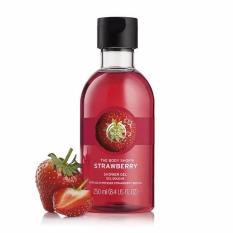 Best Rated The Body Shop Strawberry Shower Gel 250Ml