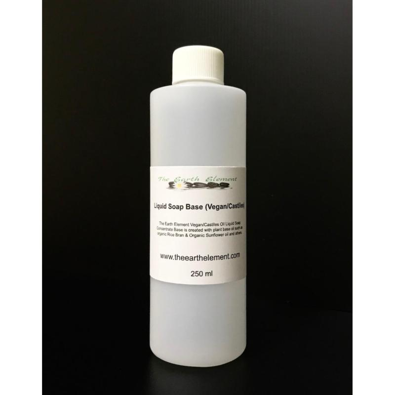Buy The Earth Element Castile Liquid Glycerine Soap Base (250ml) Singapore