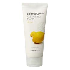 Cheapest The Face Shop Herb Day 365 Cleansing Foam 170Ml Lemon Intl
