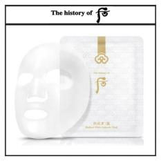 Get Cheap The History Of Whoo Gongjinhyang Seol Radiant White Ampoule Mask 25G The History Of Whoo Bichub Ja Saeng Essence 1Ml X 10Pcs