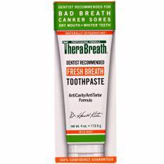 Brand New Therabreath Fresh Breath Toothpaste Mild Mint Flavor 113 5 Grams