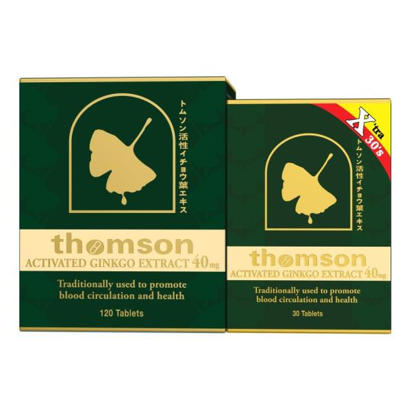 Buy THOMSON Activated Ginkgo 120 tablets (Xtra 30 tablets) Singapore
