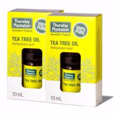 Buy Thursday Plantation Tea Tree Oil 10Ml 2Pcs Hong Kong Sar China