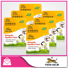 Tiger Balm Mosquito Repellent Patch 10Pcs X 6 Packs Singapore