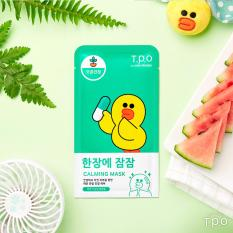 Buy Cheap T P O Tpo With Line Friends Calming Face Mask Box 10Pcs