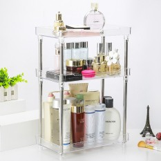 Compare Transparent Cosmetic Storage Rack Bathroom Wash Basin Bathroom Washbasin Household Dresser Skin Care Products Racks Three Floors Intl