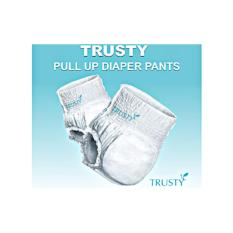 Sale Trusty *d*lt Pull Up Diaper Pants M Size Trusty Diapers