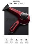 Best Rated Unix Korean Best Selling 1300W Hair Dryer B1530 With Cooling Function Negetive Ion