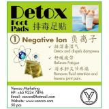 Vancco Detox Foot Patch Negative Ion 100 Pcs Review