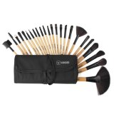 Promo Vander Make Up For You 24 Pcs Professional Cosmetic Makeup Brush Set Beige With Pouch Bag(Brown) Intl
