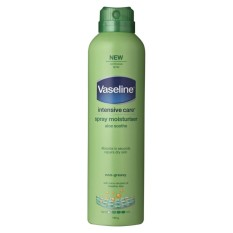 Vaseline Vaseline Intensive Care Spray Moisturizer Aloe Soothe 184G Reviews