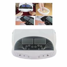 Vinmax Professional 5 Mode Dual Ion Detox Ionic Foot Bath Spa Cleanse Machine Infrared Belt With Two Person Ionic Detox 6X10Cm Large Lcd Screen 220V Intl Deal