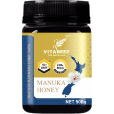 Compare Vitabeez Manuka Honey Umf 10 Mgo 260 500G Prices