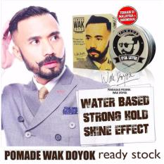 Wak Doyok Strong Hold Waterbased Hair Styling Pomade 100Ml In Stock