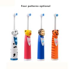 Who Sells The Cheapest Waterproof Battery Powered Children Cartoon Pattern Electric Toothbrush Child Oral Hygiene Electric Massage Teeth Care Kids Toothbrush Cleanser Monkey Intl Online