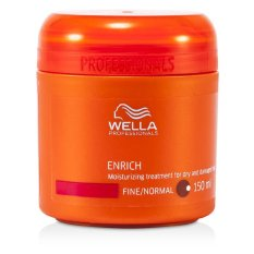 Compare Wella Enrich Moisturizing Treatment For Dry And Damaged Hair Fine Normal 150Ml 5Oz Prices