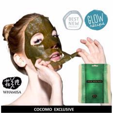 Price Whamisa Kelp Mask Sheet 2Pcs Cocomo Whamisa Singapore