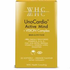 Whc Omega-3 Fish Oil With Ginseng And Lutein By Curaxia Pte Ltd.
