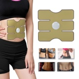 Where To Shop For Wireless Ems Muscle Training Gear Arm Abdominal Abs Fitness Pad Body Shape Gold Intl