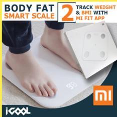 Sales Price Xiaomi Mi Body Fat Smart Scale Gen 2 White