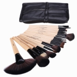 Review Yika 24Pcs Makeup Brush Set With Bag Black Yika