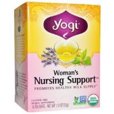 Price Yogi Tea Organic Woman S Nursing Support Caffeine Free 16 Tea Bags 1 12 Oz 32 G Yogi Tea Singapore