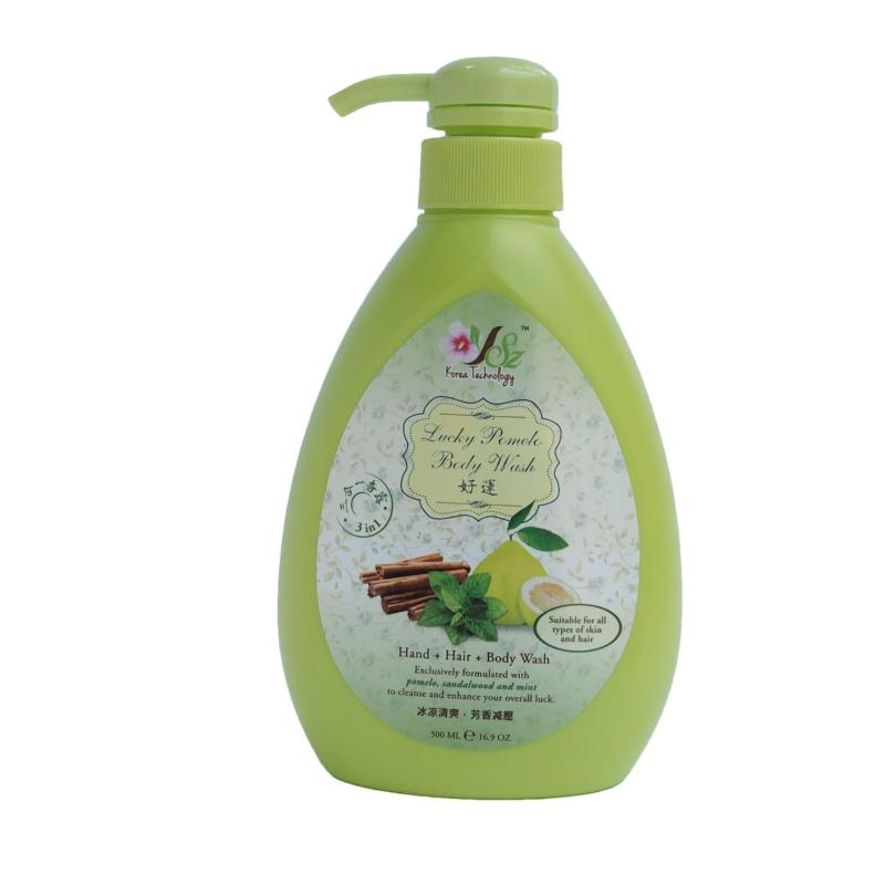 Buy Yslimz Lucky Pomelo 3 in 1 Body Wash 500ml (Green) Singapore