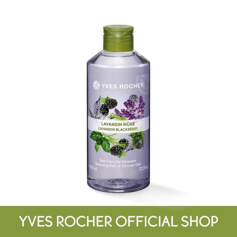 Buy Yves Rocher Relaxing Lavandin Blackberry Bath Shower Gel 400ml Singapore