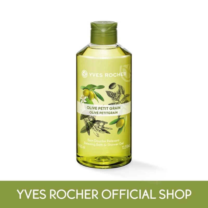 Buy Yves Rocher Relaxing Olive Petit Grain Bath Shower Gel 400ml Singapore