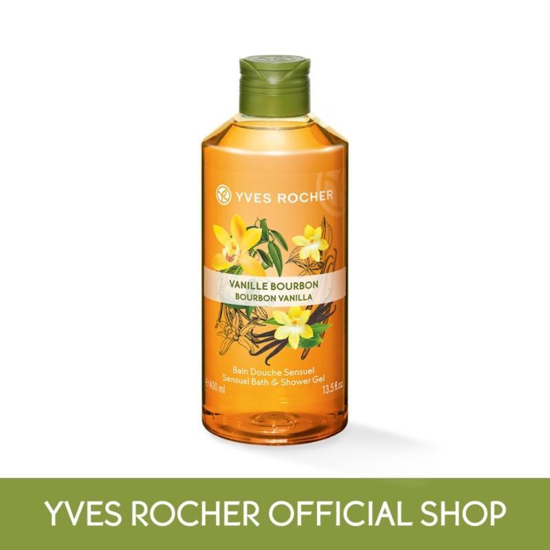 Buy Yves Rocher Sensual Bourbon Vanilla Bath Shower Gel 400ml Singapore