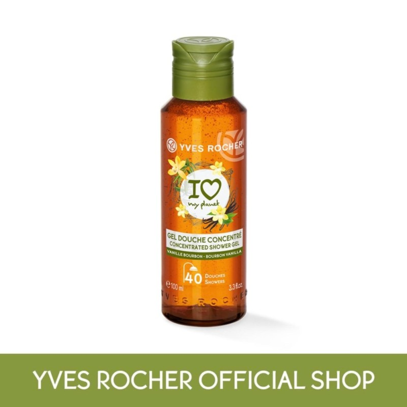 Buy Yves Rocher Eco Concentrated Shower Gel Vanilla Bourbon 100ml Singapore