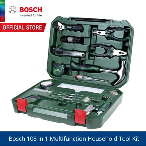 Bosch 108 in 1 Multifunction Household Tool Kit - 2607017372