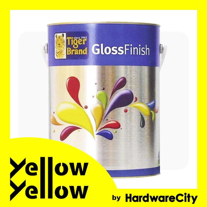 Tiger Brand Gloss Finish Paint For Wood & Metal 1L - COLORS AVAILABLE