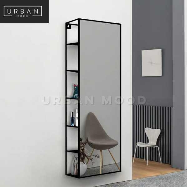 [Pre-Order] MALONE Modern Wall Mirror Shelf