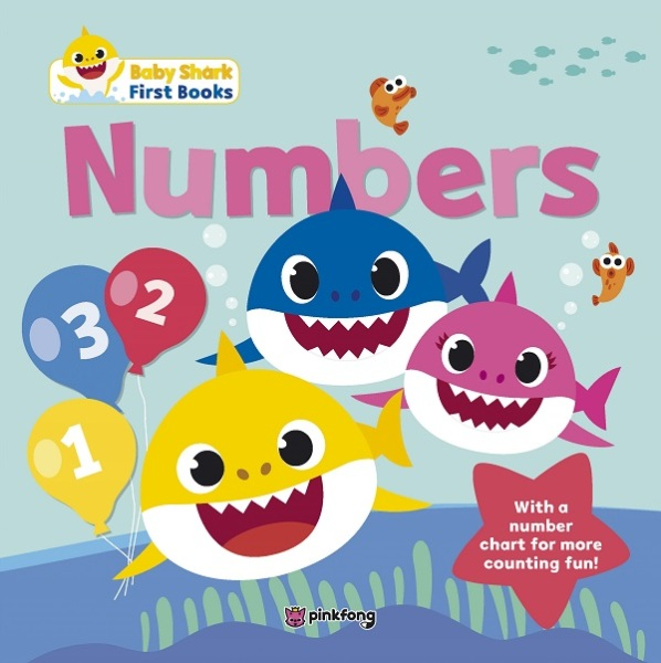 Baby Shark My First Book Of Numbers / English Toddler Books / (9789814868174)