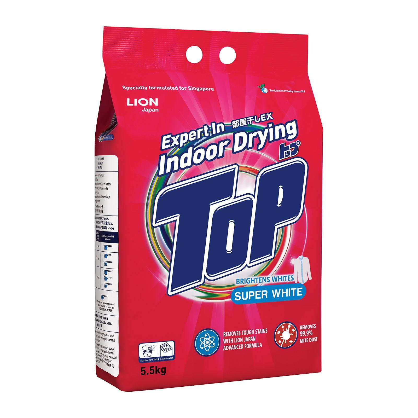 Top Detergent Powder - Super White