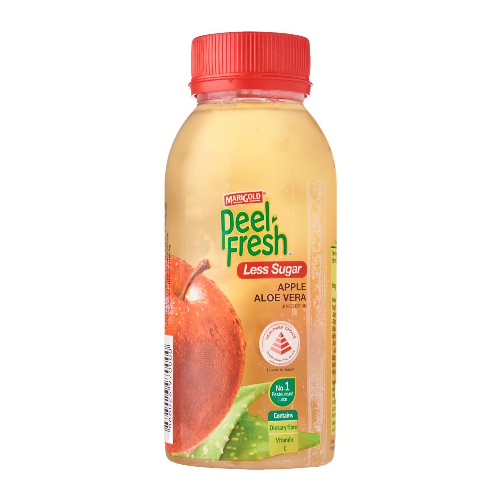 MARIGOLD PEEL FRESH Apple Aloe Vera Juice Drink - Less Sugar 250ml