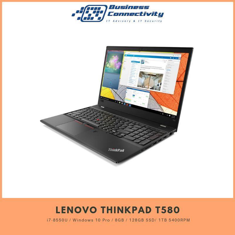 Lenovo Thinkpad T580 i7-8550U / Windows 10 Pro / 8GB / 128GB SSD/ 1TB 5400RPM
