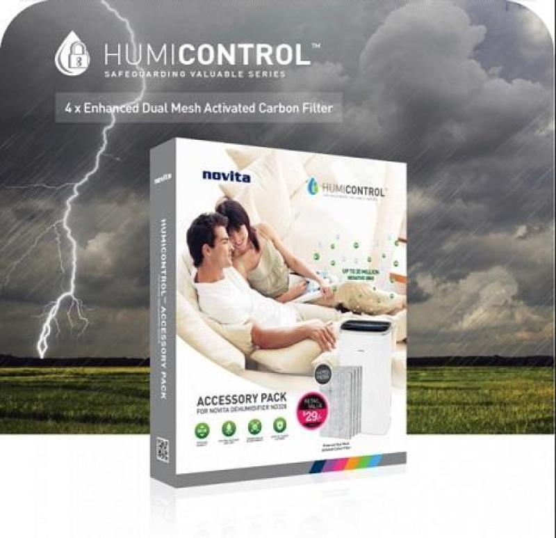 Novita Dehumidifier Activated Carbon Charcoal Filter Singapore