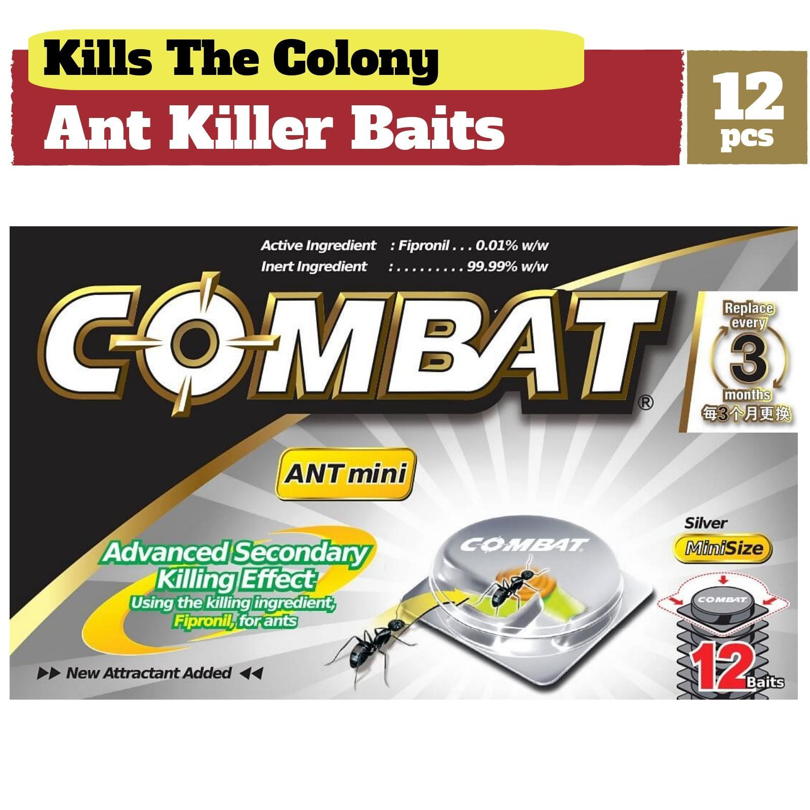 Combat Ant Killer Mini Bait Stations By Redmart.