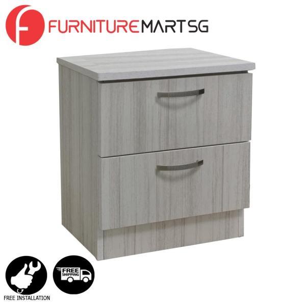 [FurnitureMartSG] Dexon 2 Side Table in White Wash_FREE DELIVERY + FREE INSTALLATION