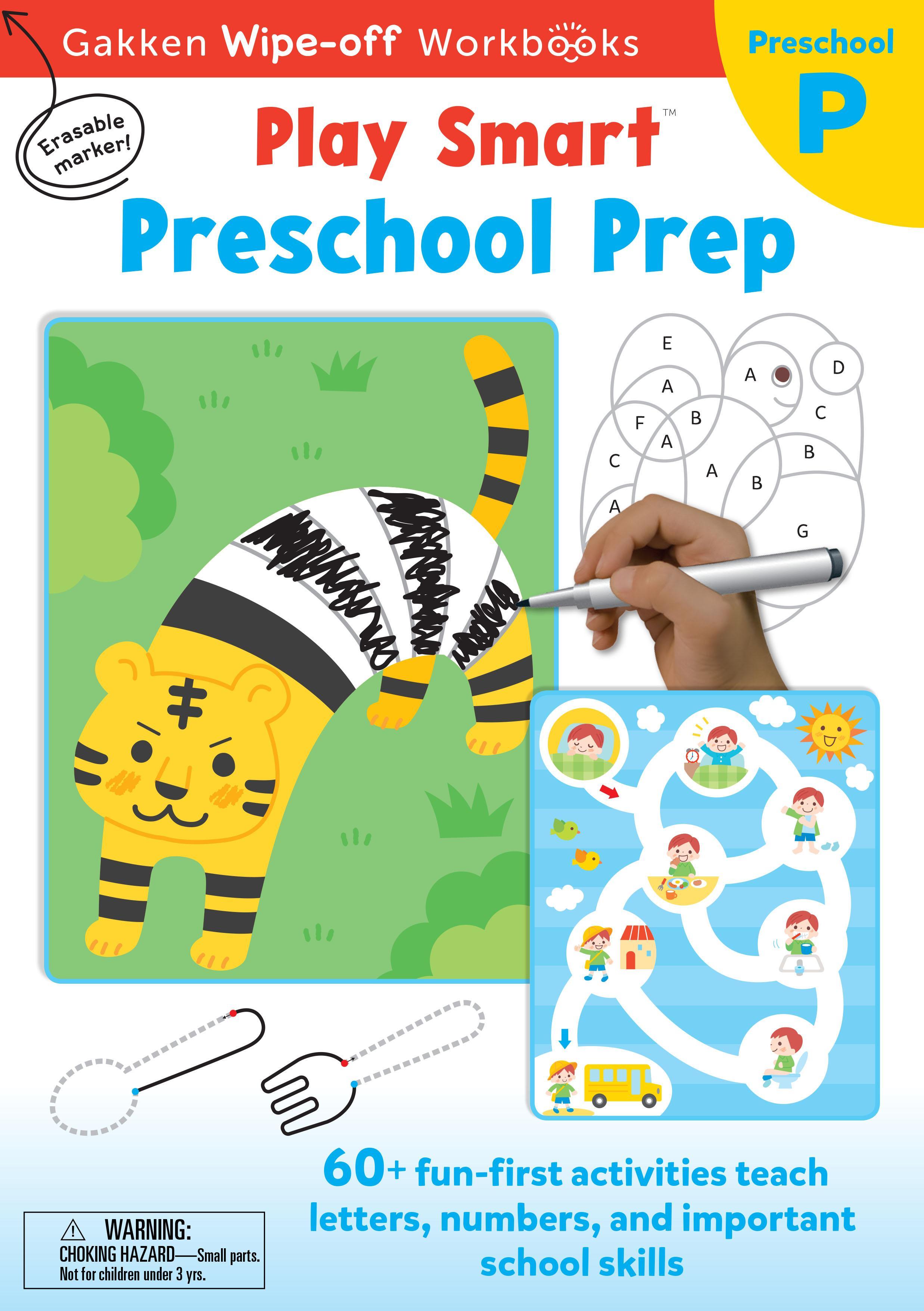 PlaySmart :  Wipe&Off Preschool Prep