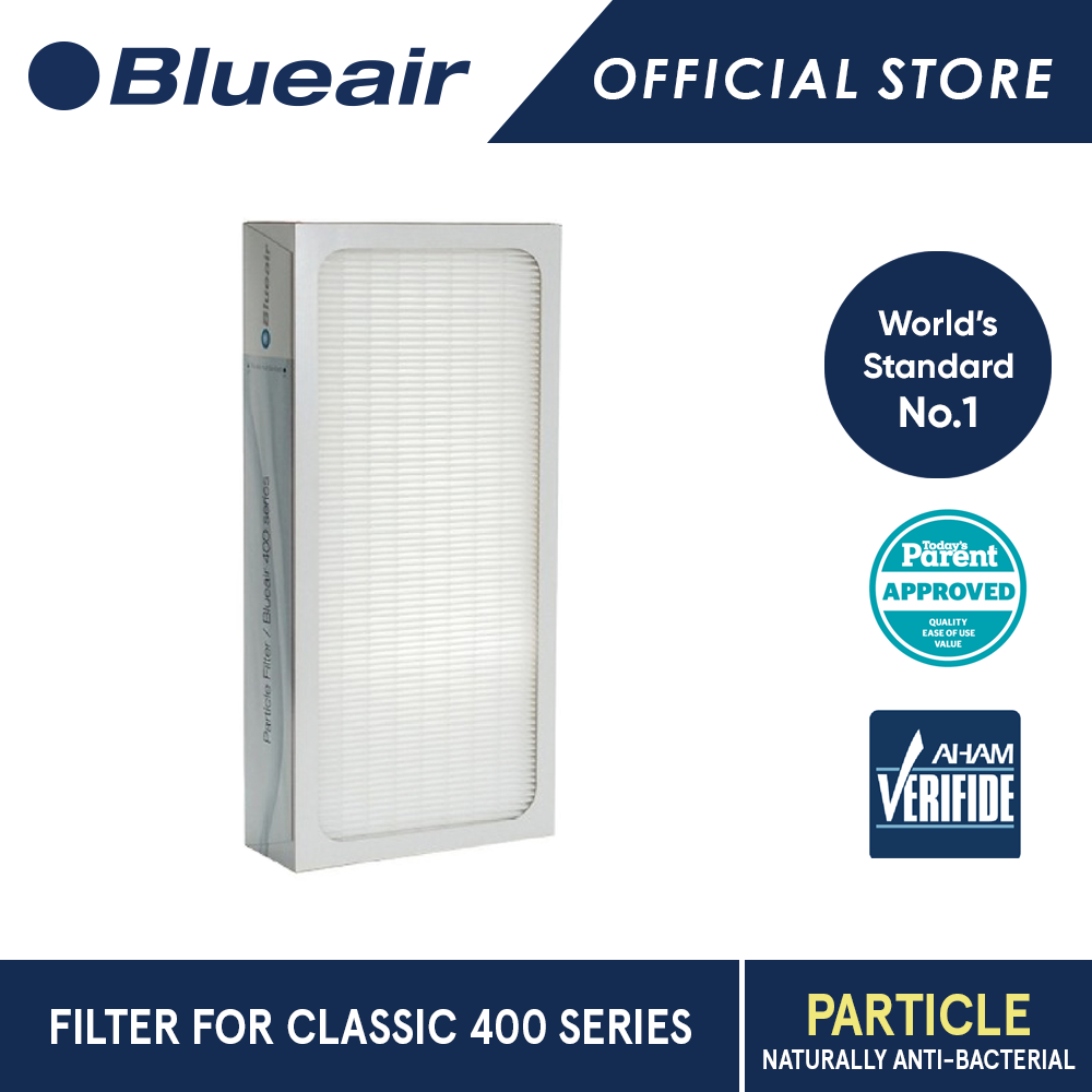 Blueair Classic 400 Series Particle Replacement Filter.