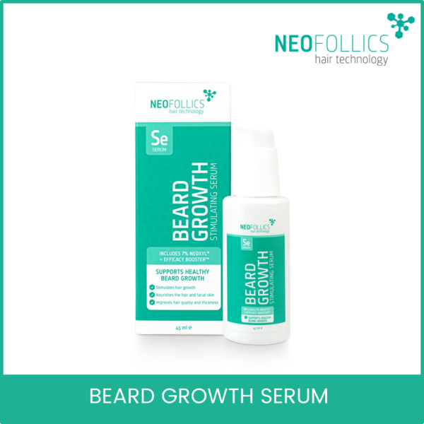 Buy Neofollics Beard Growth Serum. Worlds First Beard Growth Serum with 7% Neoxyl and Efficacy Booster Singapore