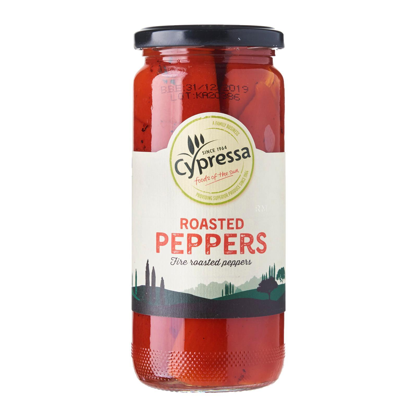 Cypressa Roasted Red Peppers