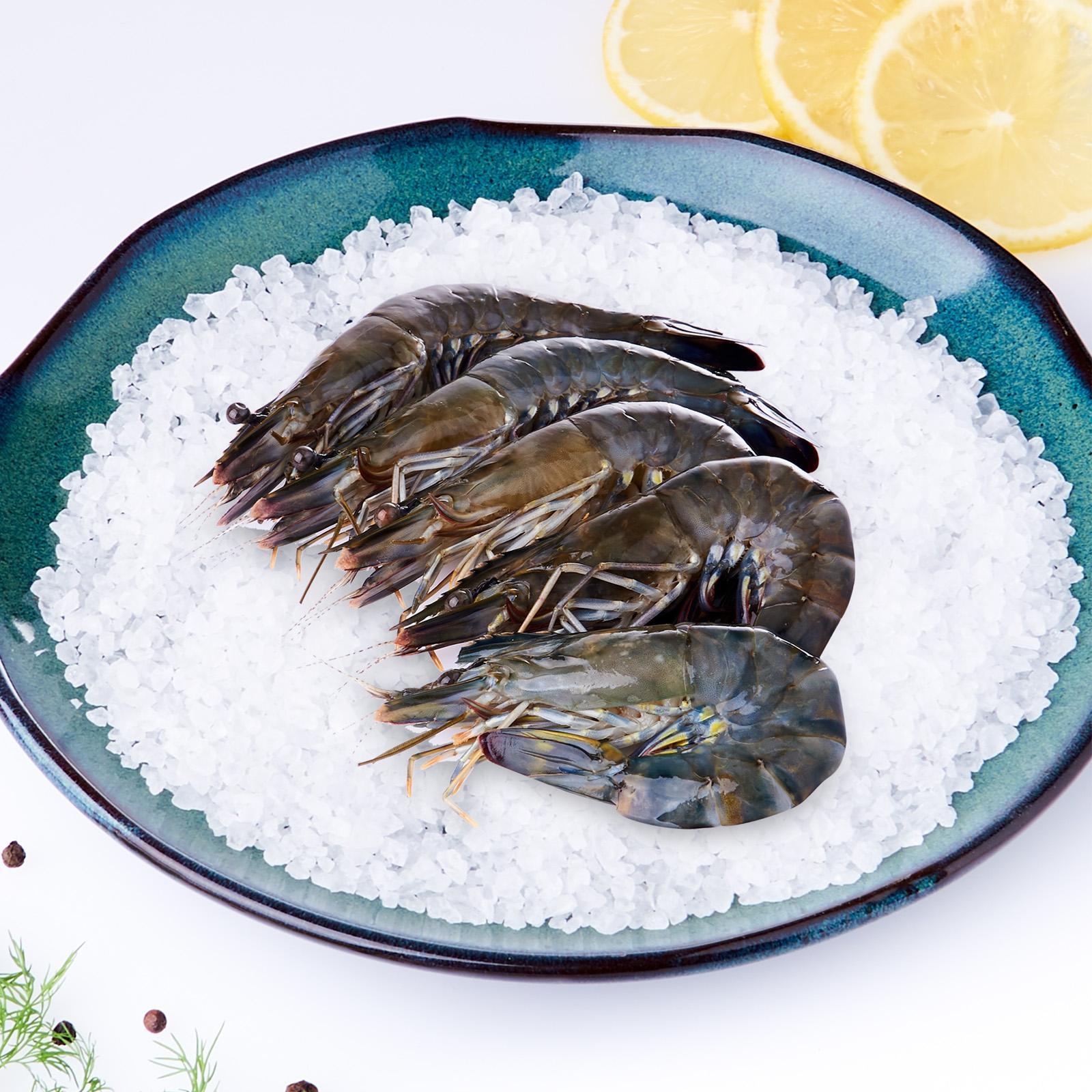 Jurong Fish Market Fresh Tiger Prawns - Medium