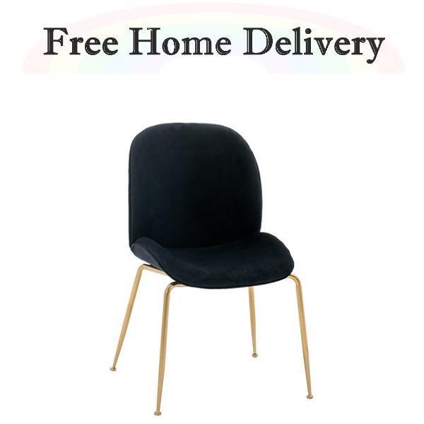 Designer Velvet Style Chair