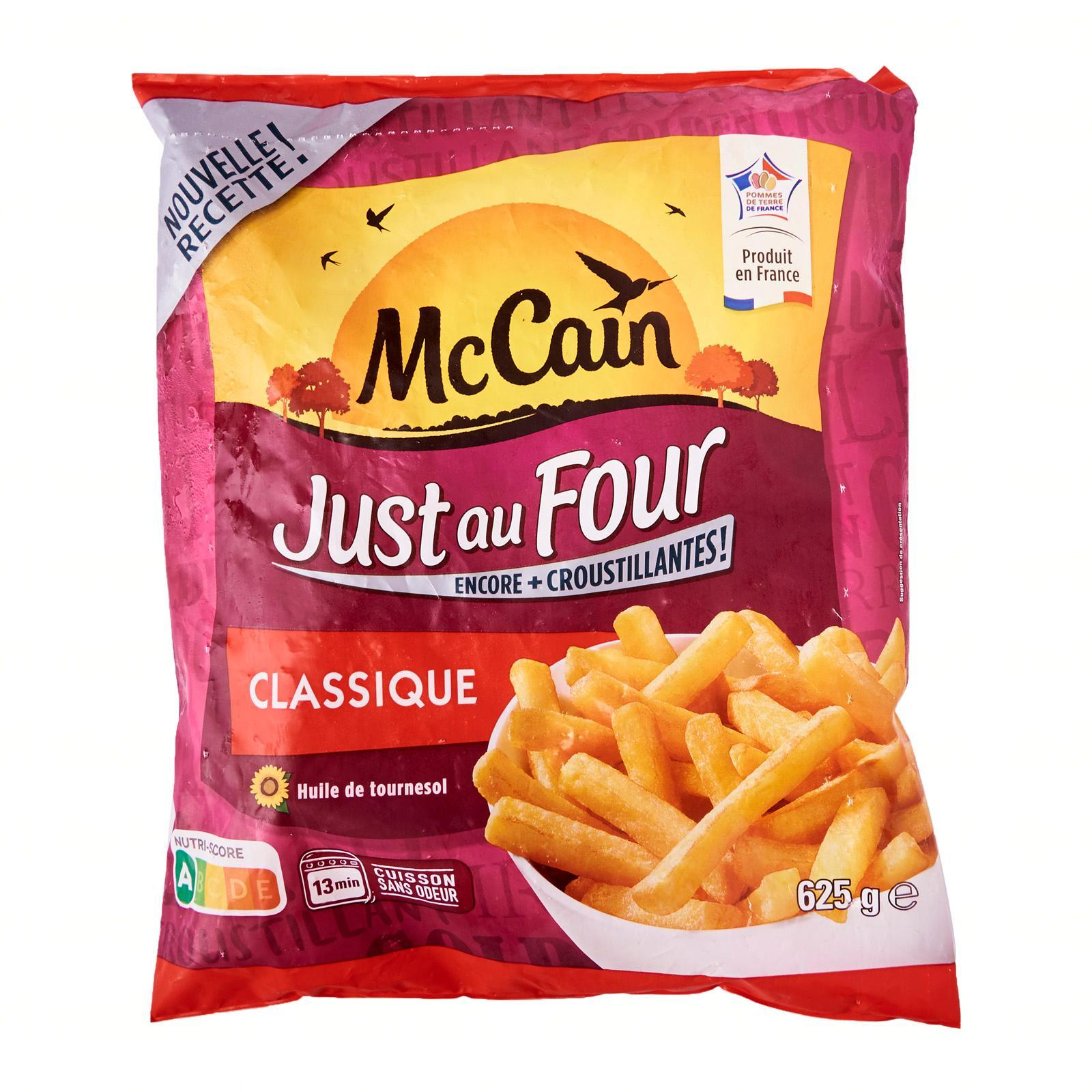 Mc Cain Oven Chips Straight - Frozen - By Le Petit Depot By Redmart.